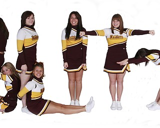 South Range High School Cheerleaders BLITZ!