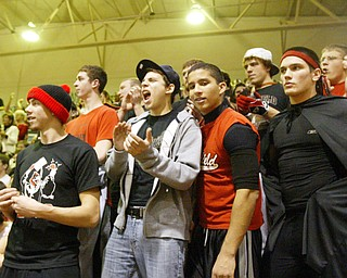 Poland at Canfield boys basketball.
