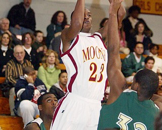 Mooney's L.J. Sutton scores 1,000 point.