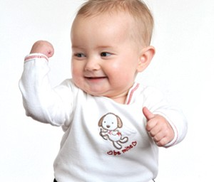 THUMBS UP FOR SNAPZ!: Hannah LaPlante, 9 months, of Poland; daughter of John and Laurie LaPlante. Submitted by John LaPlante.