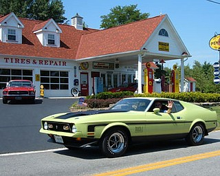 """This is a 1971 Mach 1 Mustang.  I bought this car as a demo in January of 1972.  It had approx 5,000 miles on it an came with a full new car warranty for $2995 from Shivley Ford in downtime Niles.  I've dated my girl friend, now wife in it.  I have pictures of my son as a baby sitting behind the wheel, he is now a doctor with a family of his own.  My grandson also had his picture taken behind the wheel as well.  My Mach has been featured in national publications.  I have kept this car 98% """"factory"""",  just the way it was in 1971.  Presently it has approx 39,000 miles on it.  It is my time capsule, whenever I take it for a spin, my gray hair disappears, life's troubles gets lost for a time and gas is $0.35 a gallon again!  It's much cheaper therapy and way more fun! — Robert Macabobby"""