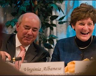 5.22.2008 Athena Award Dinner - Virginia Albanese & Frank Hierro