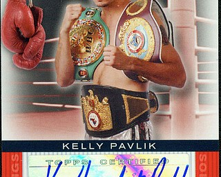 Kelly Pavlik Trading Card