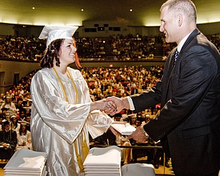 Howland High School graduation 2008.