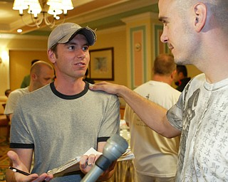 Kelly Pavlik - Gary Locket press conference, Atlantic City June 5, 2008.