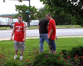 Volunteers at Saturday's StreetScape