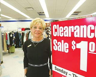 New Sign Boardmans Goodwill  store manager pam channell