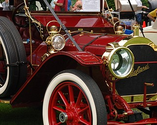 "Bob Erasquin's 1920 Packard Phaeton, best in show at the 19th Annual National Packard Museum Car Show, ""Boss of the Road, Beauty of the Boulevard."""