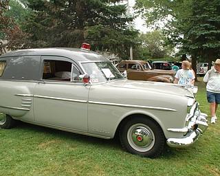Bruce Taylor's 1954 Packard Ambulance