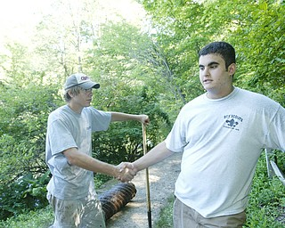 Eagle Scout Service project Jordan Vigorito.