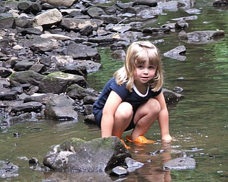 My name is Joanne and Dave Seil, of Boardman and we took this picture of their daughter, Malina, in June at Mill Creek park. She is 3 1/2 years old.