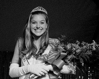 Candace Campana, 17, of Struthers was named Italian Queen at the Downtown Italian Festival in Youngstown on Friday, August 1, 2008. Daniel C. Britt.