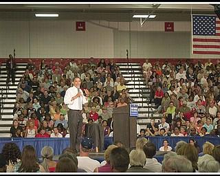 08052008 Barack Obama at Austintown Fitch High School.