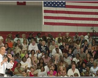 8.5.2008 Barack Obama at Fitch High School