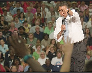 2008 Barack Obama at Austintown Fitch High School