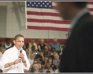08.05.2008 Barack Obama at Austintown Fitch High School.