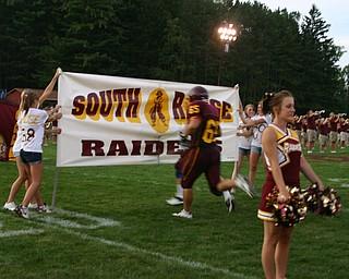 """Friday Night Football begins at the South Range Football Stadium!"""