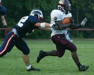 Liberty vs Niles football August 29, 2008.