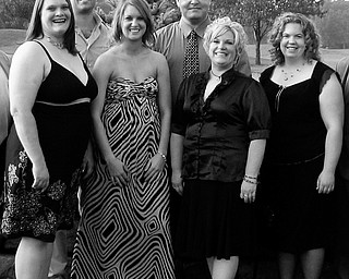 Photo shows from left, Jayna L. Vilsack of Niles, Joseph R. Lane of Canfield, Nicole A. Kelly of Boardman, Jason M. Fenstermaker of Bristol, Barbara A. Robinson of Vienna, and Jodi E. Gearhart of Mineral Ridge.