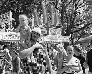 Canfield Fair, Saturday, August 30, 2008. Daniel C. Britt.