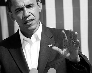 Presidential nominee Barack Obama