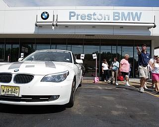 BMW Ultimate Drive at Preston BMW in Warren