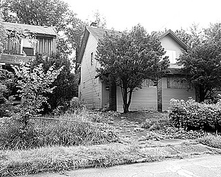 ORDERED BOARDED: A Mahoning County magistrate, responding to legal maneuvers by Youngstown officials including police, ordered this house at 542 W. Glenhaven Avenue boarded up as a neighborhood nuisance, with costs to be levied against the owner. Police say the house was used for drug sales and that dangerous individuals had frequented the place.