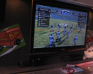 Blitz's Madden tournament at the Austintown Fitch vs. Canton McKinley Game.