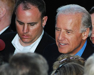 Joe Biden speaks in Youngstown Sept. 18, 2008