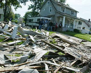 Girard house explosion Sept. 18, 2008