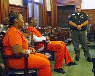 Taran Helms and Hattie Gilbert on trial for the robbery of Joseph Kaluza