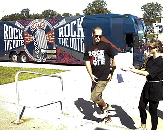 Rock the Vote at Boardman High School