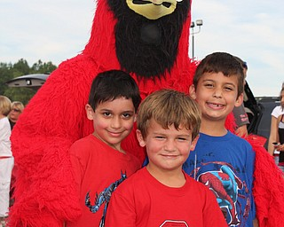 Cousin's Eddy and Alexander Duko, and Drew Carrocce with the Canfield  