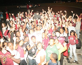 "The first ever post game ""Endzone Party"" was a huge succes at Liberty High