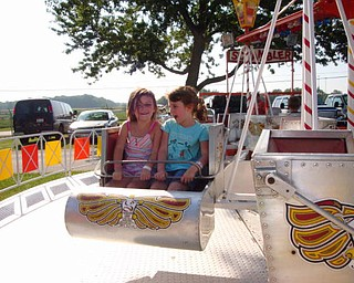 The best of summer, Maddie G. and Madison at the Canfield Fair, sent in byJudi Hickok of Canfield.