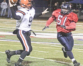 Hoover vs Fitch. Friday, October 4, 2008. Photo by Nick Mays.