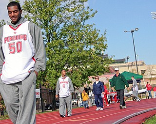 Coaches vs. Cancer 3-mile walk at Youngstown State University