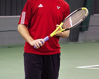 Boardman native Christopher Leson finds himself in an unusual position with the Youngstown State men's tennis team this season. As a junior, he is the veteran of a very young Penguins squad that includes just four freshman and one sophomore.