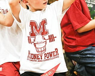 A visit to Mooney High School for their pep rally on Thursday October 16th; the day before the big 50th anniversary game vs. Ursuline High School.