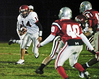 Girard vs LeBrae. Friday, October 17, 2008. Photo by Mark Stahl.