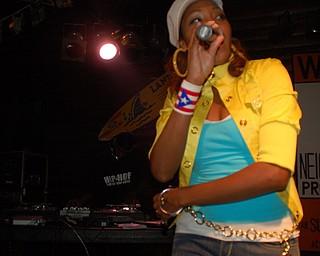Ja'Niece onstage at Hip-hop for Hip-hop Heads 5