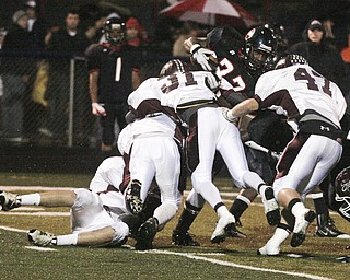 Boardman vs Fitch. High School football, Friday, October 24, 2008. Photo by Nick Mays.