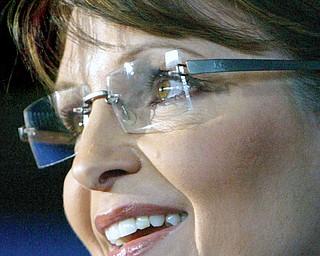 Sarah Palin at the  McCain Palin Rally at the Youngstown Airport