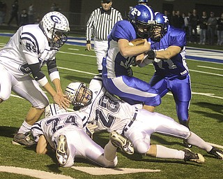 Poland vs Granville. High School Football, Saturday, November 1, 2008. Nick Mays.