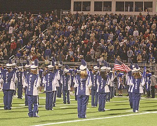 "The photo ""Poland vs Granville. High School Football, Saturday, November 1, 2008. Nick Mays."