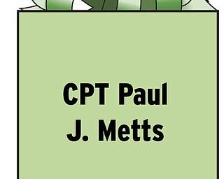 CPT Paul J. Metts HQH 185-AR-CAB COB Speicher APO AE 09393 Serving in Iraq.
