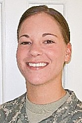CPT Deana Soffos HHT RSS 3rd ACR APO AE 09334 Serving with the U.S. Army in Iraq. 1998 graduate of Cardinal Mooney High School.