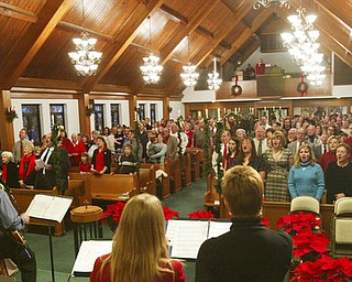 Christmas Eve at Good hope Lutheran church Boardman.