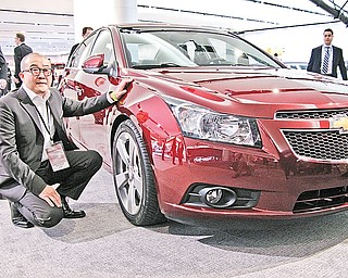Vice President of Daewood Design Taewan Kim with Chevrolet Cruze