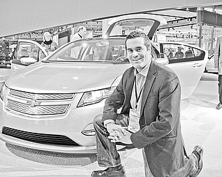 Bob Boniface with Chevrolet Volt